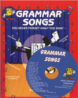 Grammar Songs CD Kit (CD, book, Teacher's Guide)