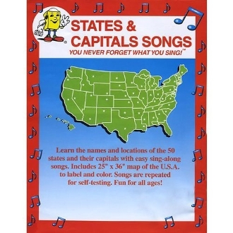 100 States & Capitals Songs DVDs $500. (profit $1000.) FREE SHIP
