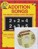 Addition Songs CD Kit (CD and Book)