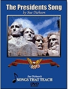 Presidents Songs DVD (last names only and pictures)