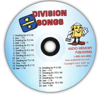 Division Songs CD only