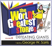 World's Greatest Stories (NIV) - # 6 Defeating Giants (CD)