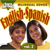 Bilingual #2 English-Spanish (CD and Book) Sara Jordan
