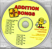 Addition Songs CD only