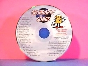 Geography Songs CD only (33 Songs) updated 2010