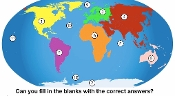 Continents and Oceans Song and Test mp4 Video Lesson