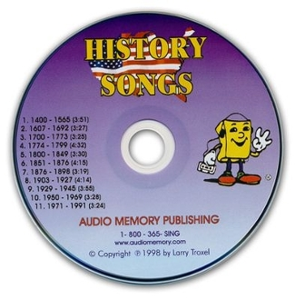 History Songs CD only