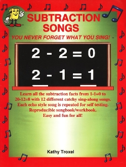 Subtraction Songs book