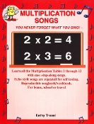 Multiplication Songs Book - $3.00 (reproducible)