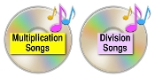 Multiplication and Division Songs SALE - 2 for $15.