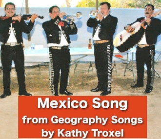 Mexico Song mp4 Video Sing-Along Movie and Test