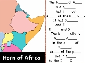 "Horn of Africa mp4 from ""Geography Songs"" by Kathy Troxel"