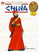 Ancient China - History Grades 4 - 6 by Maria Backus (with CD)