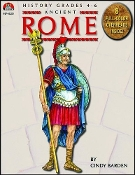 Ancient Rome by Cindy Barden (Milliken) with CD