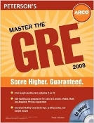 Master the GRE (2008) Peterson's (with unopened CD)