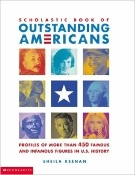 Scholastic Book of Outstanding Americans (hardbound new)