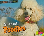 All About Poodles (new paperback) by Erika Shores