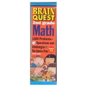 Brain Quest 2nd Grade Math - 1000 Problems Ages 7-8 (Cards)