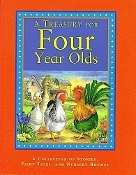 A Treasury for Four Year Olds - Backpack Books (like new)