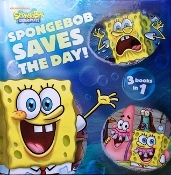 Spongebob Saves The Day! (3 books in 1) new