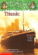 Titanic by Will and Mary Pope Osborne (like new paperback)