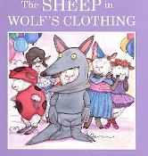 The Sheep in Wolf's Clothing by Helen Lester (used paperback)