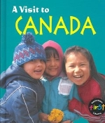 A Visit to Canada by Mary Quigley (used hardbound)