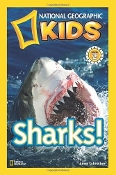 Sharks! by Anne Schreiber (National Geographic Kids) Level 2