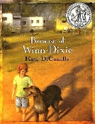 Because of Winn-Dixie by Kate DiCamillo (used paperback)