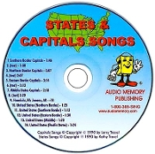 States and Capitals CD only