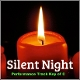 Silent Night (Performance Track Key of C)