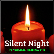 Silent Night (Performance Track Key of D)