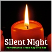 Silent Night (Performance Track Key of B Flat)