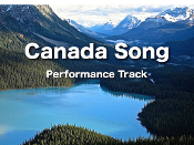 Canada Song mp3 (Performance Track)