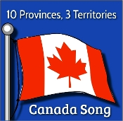 10 Provinces, 3 Territories - Canada Song mp3 by Kathy Troxel