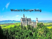 Western Europe Song mp4 (Video Song and Test) by Kathy Troxel