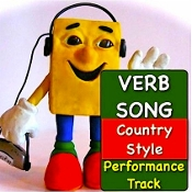 Verb Song Country Style Performance Track mp3 from Grammar Songs
