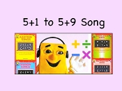 "5+1 to 5+9 mp4 from""Addition Songs"""