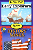 "Early Explorers from ""History Songs"" by Larry & Kathy Troxel mp4"