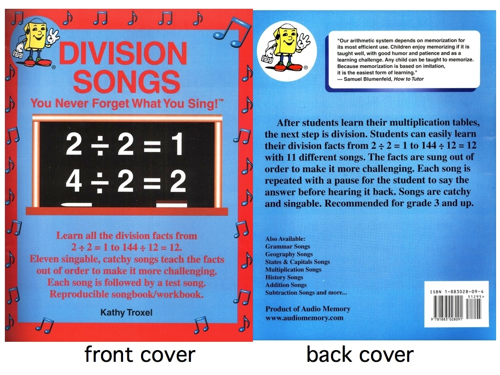 Multiplication tables song 1 12 images periodic table images division facts 1 12 equivalent fractions homework exponent division songs cd kit cd and book by gamestrikefo Image collections