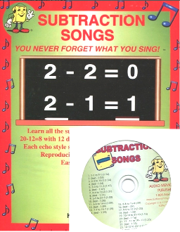 Subtraction Songs CD Kit