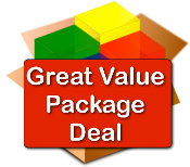 Great Value Package Deal (9 CD Kits + 1 FREE DVD)Click on photos