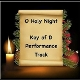 O Holy Night (Performance Track - Key of D) mp3