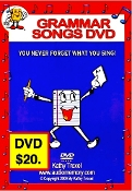 50 Grammar Songs DVDs - $500. (profit $500) Free Shipping