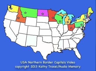 Northern Border USA Capitals Song Video mp4 Download