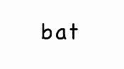 Sound Spelling Video #1 (bat - lag) mp4 Reading with Phonics