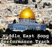 Middle East Song mp3 Performance Track