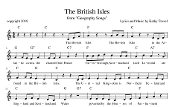 British Isles Song (sheet music) pdf