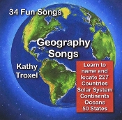 Geography Songs CD with Lyrics (newest version)