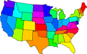 Southern Border States of USA mp4